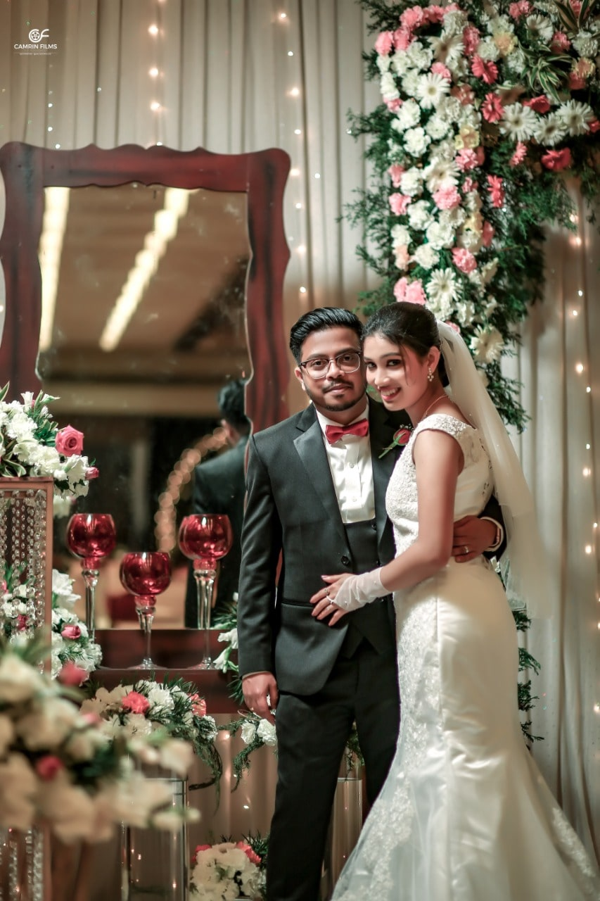 Edger and Nitha christian wedding